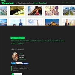 PhotoPin : un moteur de recherche pour chercher des images libre de droits