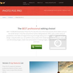 PhotoPos.com - Photo Pos Pro photo editor