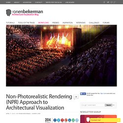 Non-Photorealistic Rendering (NPR) Approach to Architectural Visualization