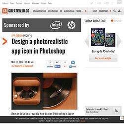 Design a photorealistic app icon in Photoshop