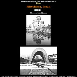 Photos of 1950s Hiroshima - The A-Bomb Dome, Hiroshima Shrine