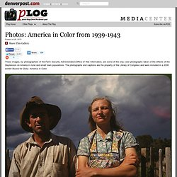 Captured: America in Color from 1939-1943 – Plog Photo Blog