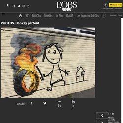 PHOTOS. Focus sur Banksy, personnalité de l'année sur le web