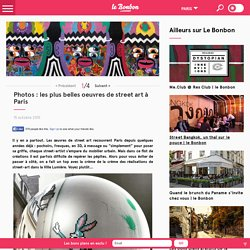 Photos : les plus belles oeuvres de street art à Paris