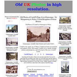 Old Photos of Cardiff (Page 4) in South Wales, United Kingdom of Great Britain