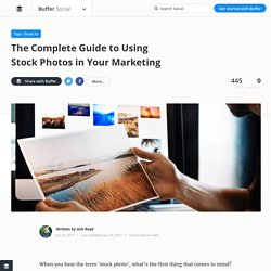 Free Stock Photos. The Complete Guide on How to Find and Use Stunning Stock Images