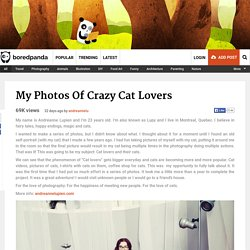 My Photos Of Crazy Cat Lovers
