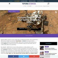 Curiosity sur Mars : les plus belles images du rover