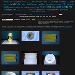 The World's Best Photos of cylinder and origami