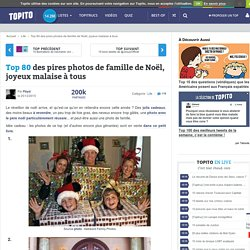Top 53 des pires photos de famille de Noël