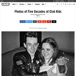 Photos of Five Decades of Club Kids