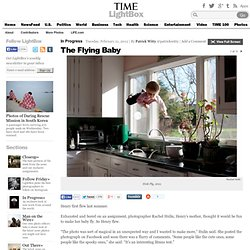 Photos: The Flying Baby