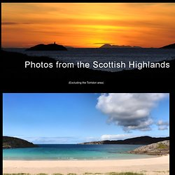Photos from the NW Highlands & Islands