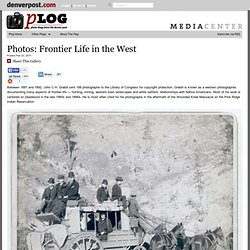 Frontier Life in the West