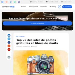 11 sites de photos gratuites et libres de droits
