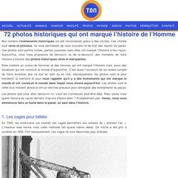 photos historiques rares et marquantes