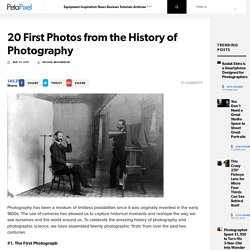 20 First Photos from the History of Photography