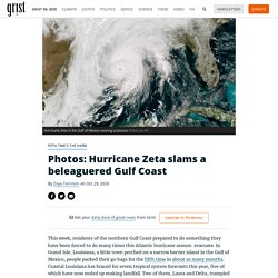 29 oct. 2020 Photos: Hurricane Zeta slams a beleaguered Gulf Coast