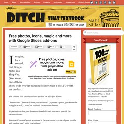 Free photos, icons, magic and more with Google Slides add-ons