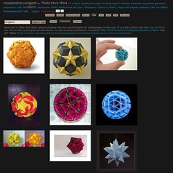 s Best Photos of icosahedron and origami