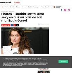 Photos - Laetitia Casta, ultra sexy en cuir au bras de son mari Louis Garrel