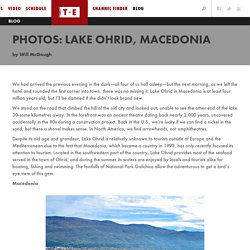 PHOTOS: Lake Ohrid, Macedonia