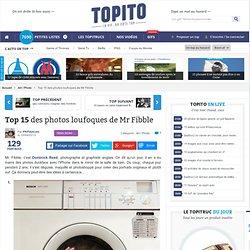 Top 15 des photos loufoques de Mr Fibble