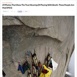 29 Photos That Show The True Meaning Of Playing With Death. These People Are Mad (PICS)