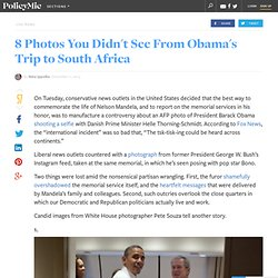 8 Photos You Didn't See From Obama's Trip to South Africa