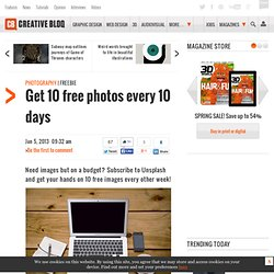 Get 10 free photos every 10 days
