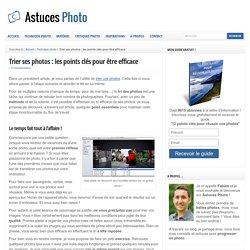 Trier ses photos : les points clés pour être efficace