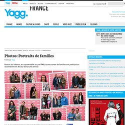 Photos: Portraits de familles