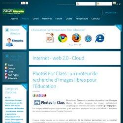 Photos For Class : un moteur de recherche d'images libres pour l'Éducation