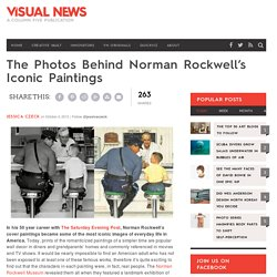 The Photos Behind Norman Rockwell's Iconic Paintings