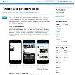 Photos just got more social
