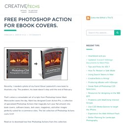 Free Photoshop Action for eBook Covers.