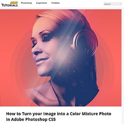 How to Turn your Image into a Color Mixture Photo in Adobe Photoshop CS5