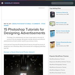 15 Photoshop Tutorials for Designing Advertisements