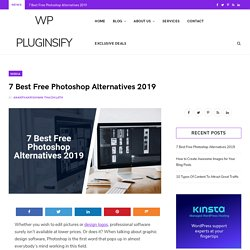7 Best Free Photoshop Alternatives You Should Use in 2019