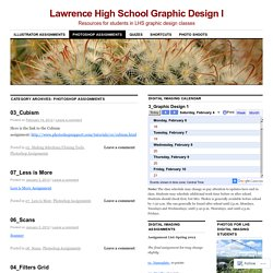Lawrence High School Graphic Design I