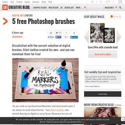 5 free Photoshop brushes
