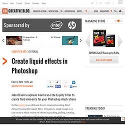 Create Liquid Effects
