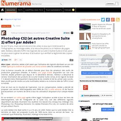 Photoshop CS2 gratuit!