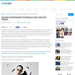 30 Easy Tutorials