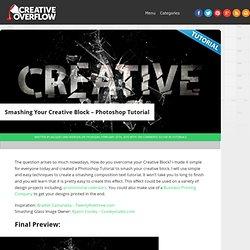 Smashing Your Creative Block - Photoshop Tutorial