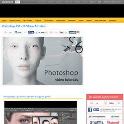 Photoshop CS6 -10 Video Tutorials