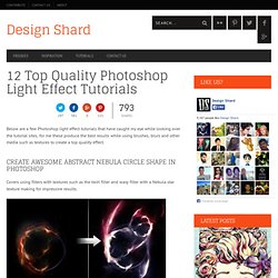 12 Photoshop Light Effect