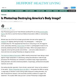 Is Photoshop Destroying America's Body Image?