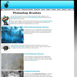 Free Photoshop Brushes downloads and Photoshop Tutorials