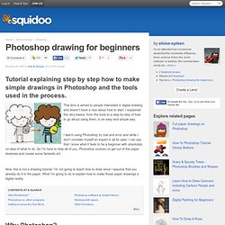 Photoshop drawing for beginners